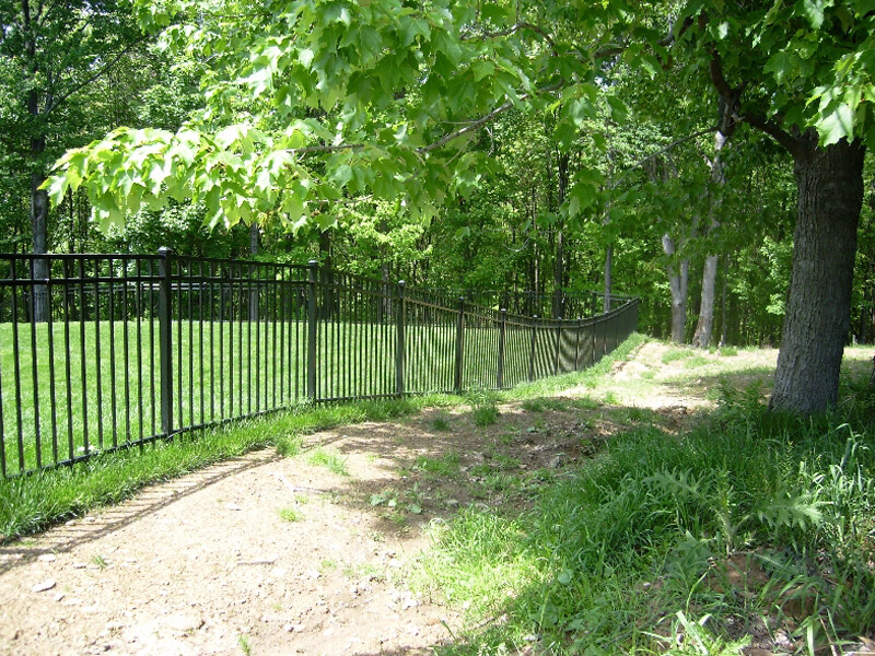 fence around property