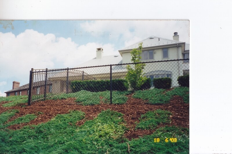 Residential Chain Link Fence Mars