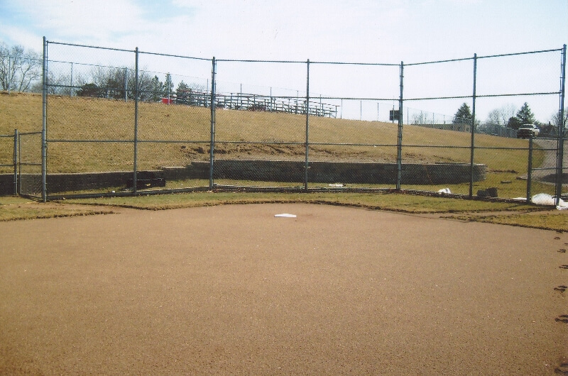 baseball field fencing