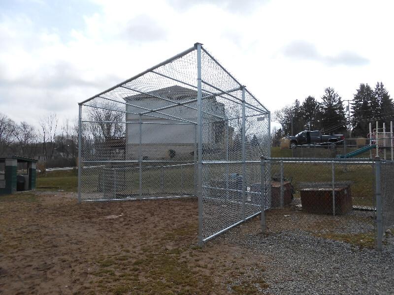 Local Baseball Fencing