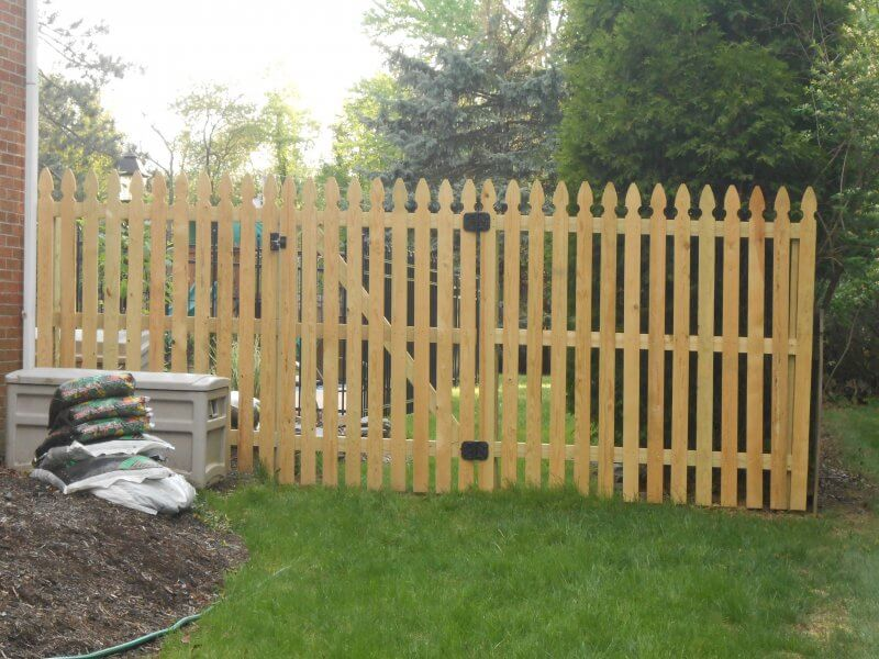 Wooden Fence Pittsburgh