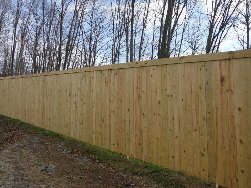 Wood Fences – Fence By Maintenance Service