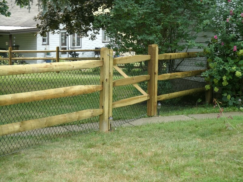 residential fencing installation