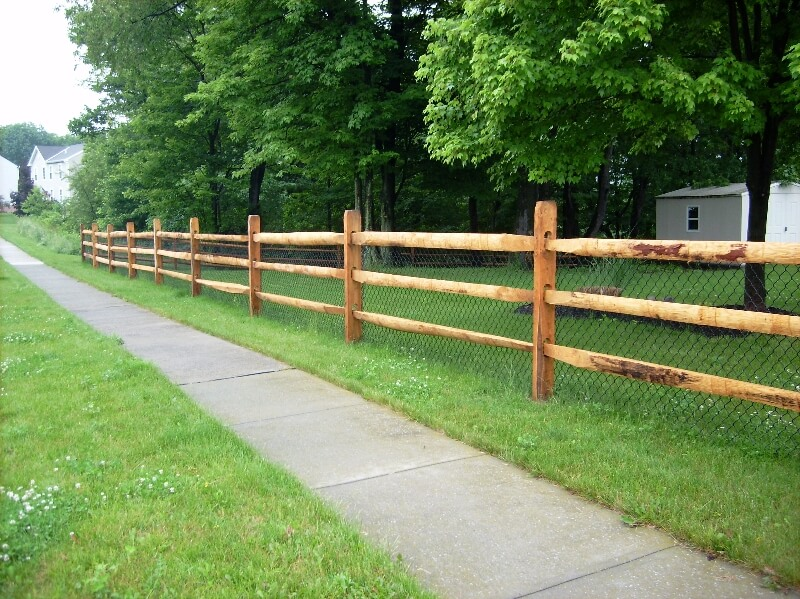 Wood Fence Baden