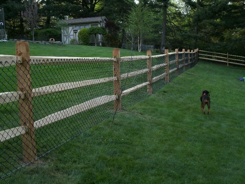 Split Rail Fences – Fence By Maintenance Service