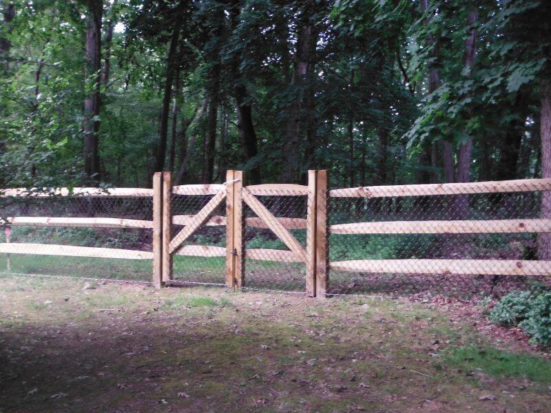 Split Rail Fences Fence By Maintenance Service