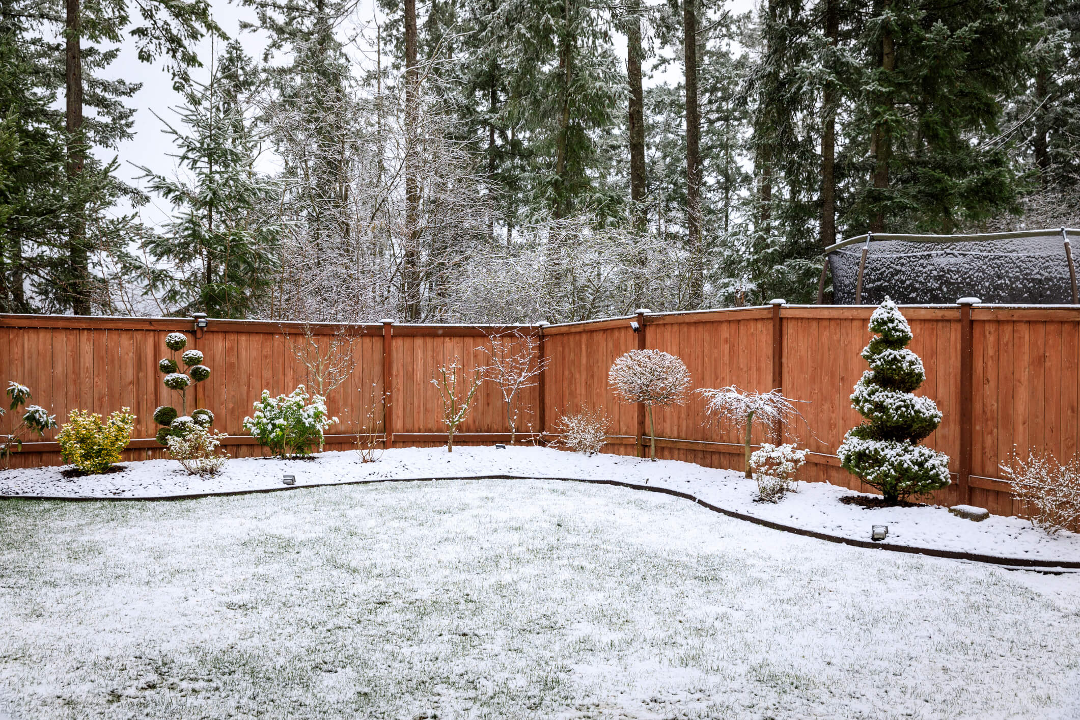 Winter Fence Installation