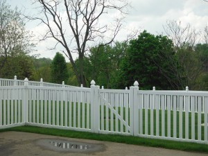 Cranberry Fence installation