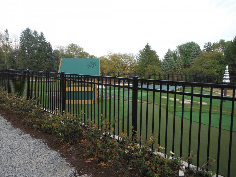 golf course fencing