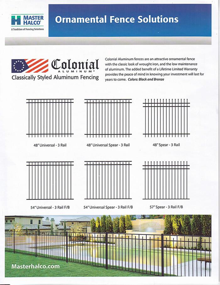 Ornamental Fence Fence By Maintenance Service