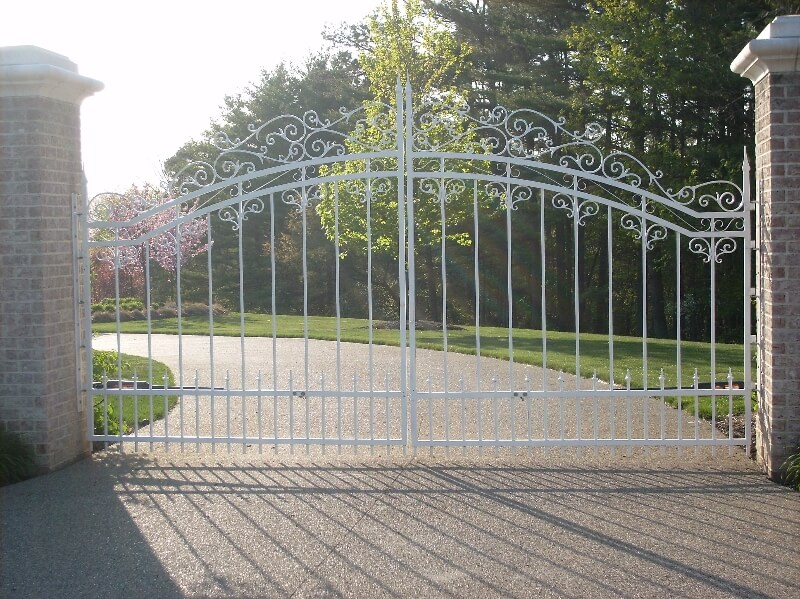 residential security fence