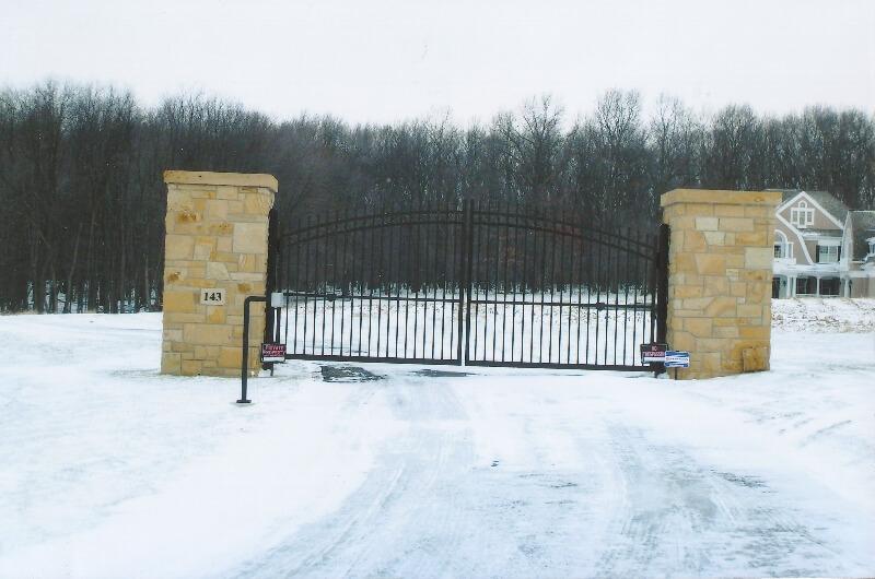 home entrance gate