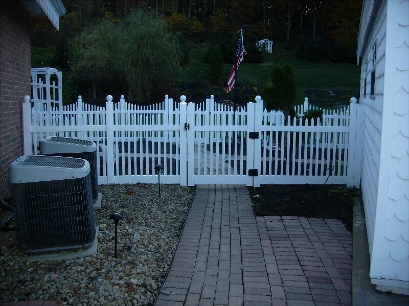 residential property fence