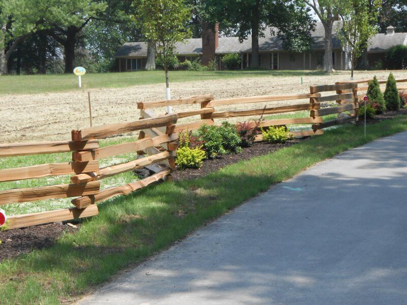 Spit Rail Fencing Pittsburgh