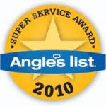 Angie's List Award 2010