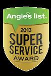 Angie's List 2013 Award