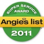 Angie's List 2011 Award