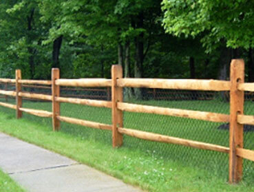 Split Rail Fences