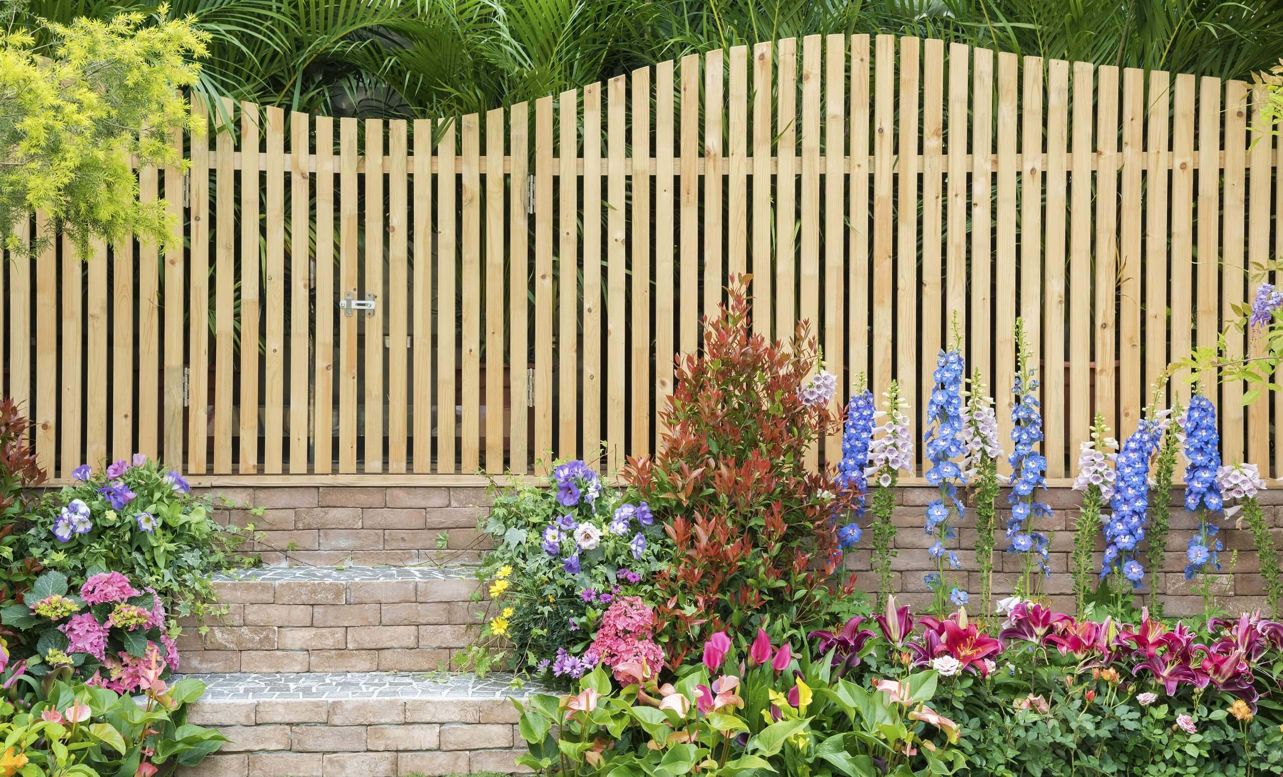Wooden Backyard Fence